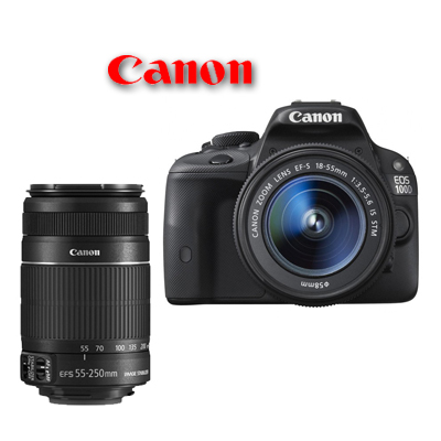 canon eos 100d 18 55mm is stm 55 250mm is ii manuale in italiano. Black Bedroom Furniture Sets. Home Design Ideas