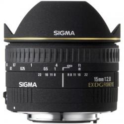 SIGMA 15mm F/2.8 EX DG DIAGONAL Fisheye - PENTAX - 2 Anni Di Gar. In Italia
