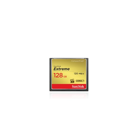 SANDISK COMPACT FLASH EXTREME 128GB 120 MB/S