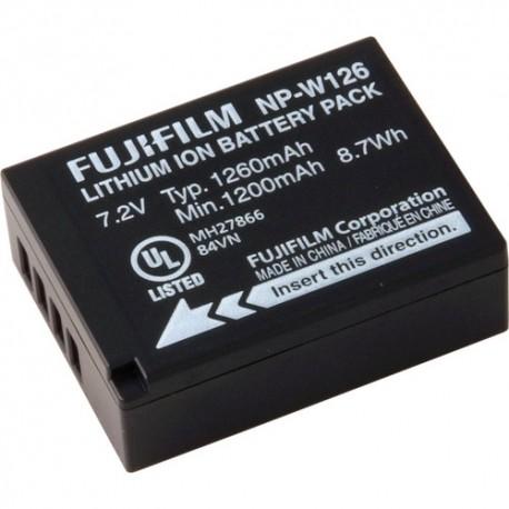 FUJIFILM NP-W126 BATTERIA LITIO - X-E1 - X-E2 - X-A1 - X-PRO1