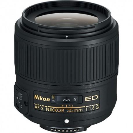 NIKON 35mm F/1.8G ED AF-S FX - 2 Anni Di Garanzia In Italia