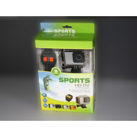 SPORTS HD DV 1080p 1.5 TFT Screen Stabilizzata - Sports Cam Wifi Full Hd H264 - 2 Anni Di Garanzia