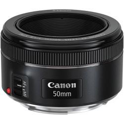 CANON EF 50mm F/1.8 STM - 2 Anni Di Garanzia In Italia