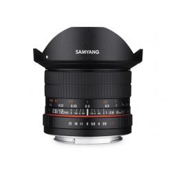 SAMYANG 12mm F/2.8 ED AS NCS Fisheye - CANON EF - 2 Anni Di Garanzia