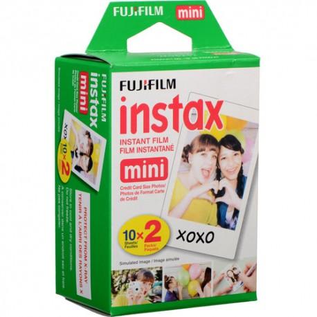 Fujifilm Instax Mini Instant - Pellicola A Colori Per Instax Mini - 20pz