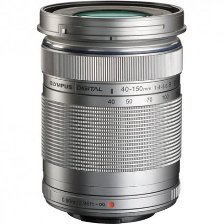 OLYMPUS 40-150mm F/4.0-5.6 M.ZUIKO R - Argento - 2 Anni Di Garanzia