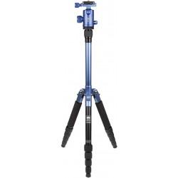 SIRUI T-005X - Treppiede Leggero 5 Sezioni + Testa a Sfera con sgancio Rapido - Blu