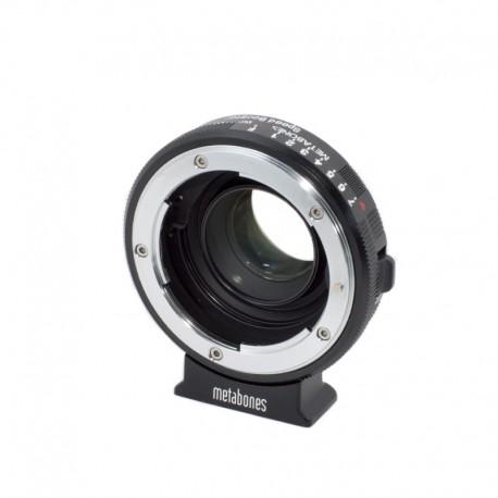 METABONES Adattatore Speed Booster T - Nikon G a Blackmagic Pocket Cinema (M4/3)