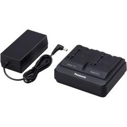PANASONIC AG-BRD50 - Doppio Caricabatteria - Serie Batterie AG-VBR - VW-VBD55 - VW-VBG6