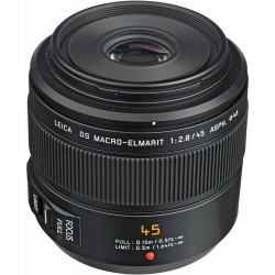 Panasonic Leica DG 45mm F/2.8 Macro-Elmarit ASPH Mega O.I.S. - 2 Anni di Garanzia