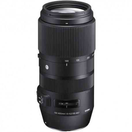 Sigma 100-400mm F/5-6.3 DG OS HSM C Canon - 2 Anni Di Garanzia In Italia