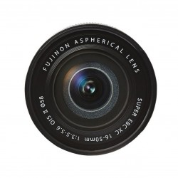 FUJIFILM 16-50mm F/3.5-5.6 XC OIS II - Versione Bulk - Nero - 2 Anni Di Garanzia