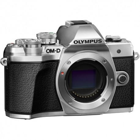 OLYMPUS OM-D E-M10 Mark III - Solo Corpo - ARGENTO - 2 Anni Di Garanzia