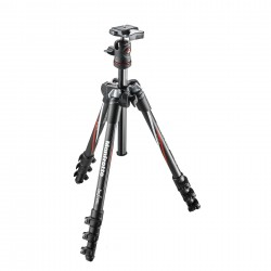 MANFROTTO MKBFRC4-BH BeFree Carbon - Treppiede carbonio 4 sezioni