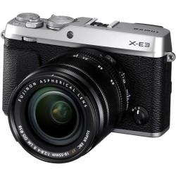 FUJIFILM X-E3 + 18-55mm F/2.8-4 XF R LM OIS ARGENTO - 2 anni di garanzia