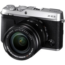 FUJIFILM X-E3 + 18-55mm F/2.8-4 XF R LM OIS ARGENTO - 4 anni di garanzia