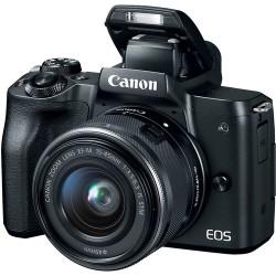 Canon EOS M50 + EF-M 15-45 IS STM - Nera - 2 ANNI DI GARANZIA