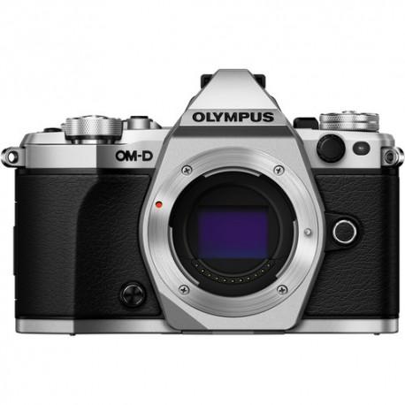 OLYMPUS OM-D E-M5 Mark II - Solo Corpo - Argento - 4 Anni Di Garanzia in Italia