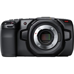 BLACKMAGIC Pocket Cinema Camera 4K - Videocamera Digitale - Micro 4/3 - 2 Anni di Garanzia in Italia