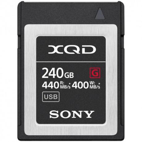 SONY XQD Serie G 240GB 440 MB/S