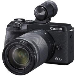 CANON EOS M6 MARK II + EF-M 18-150mm IS STM + EVF DC2 - NERA - 2 Anni di Garanzia in Italia