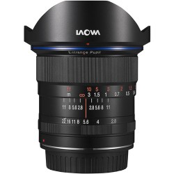 LAOWA 12mm F/2.8 Zero Distorsion - Canon - 4 Anni di Garanzia in Italia