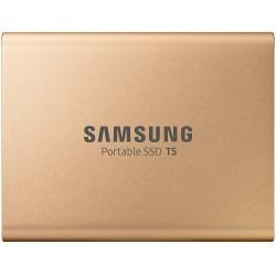 SAMSUNG Portable SSD T5 500GB - Oro - 2 Anni di Garanzia in Italia