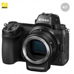 Nikon Z6 + Adattatore FTZ - Menu' Inglese - 2 Anni di Garanzia in Italia