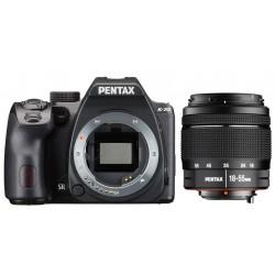 PENTAX K-70 + PENTAX 18-55 DA L AL WR - Nero - 2 Anni Di Garanzia in Italia